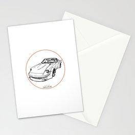 Crazy Car Art 0074 Stationery Cards