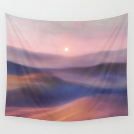 Minimal abstract landscape II Wall Tapestry