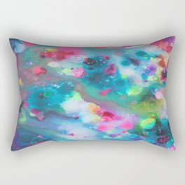 Underwater Floral 2 Rectangular Pillow