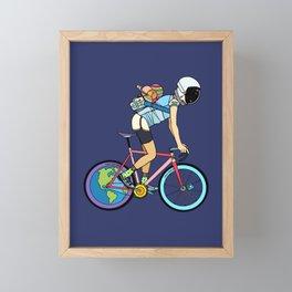 Explorer Framed Mini Art Print