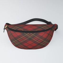 Adorable Red Christmas tartan Fanny Pack