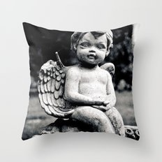 Forgotten angel Throw Pillow