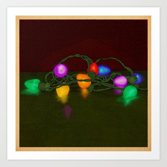 All Lit Up Art Print