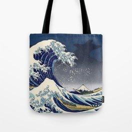 Great Wave Kanagawa Night Tote Bag