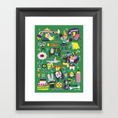 Funfair Framed Art Print