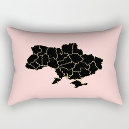 Ukraine map Rectangular Pillow
