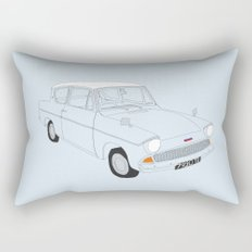 Weasley's Flying Ford Anglia Rectangular Pillow