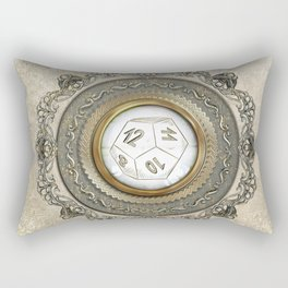 Steampunk D12 Vintage Design Rectangular Pillow