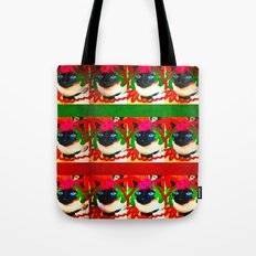 christmas kitty deluxe Tote Bag