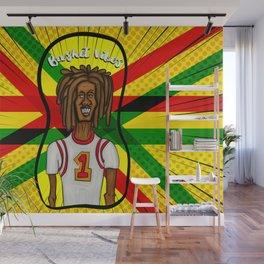 Rasta basket vibes Wall Mural