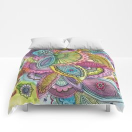 Fairground Paisley Comforters