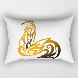 Tribal Vector Fox Rectangular Pillow