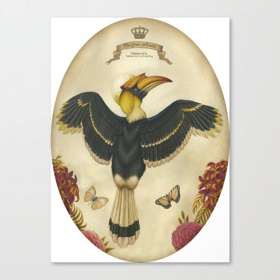 Great Hornbill Canvas Print