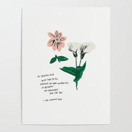 Garden Perennials Poster