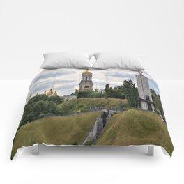 View of the Kiev-Pechersk Lavra Comforters