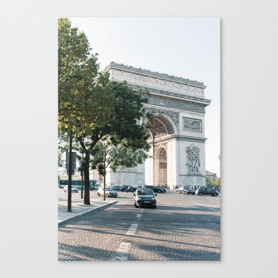 Arc de Triomphe #2 Canvas Print