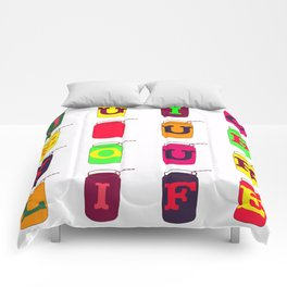 Juice up your life! Comforters