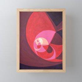 "North (""Elementals"" series) Framed Mini Art Print"