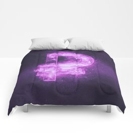 Russian Ruble symbol. Ruble Sign. Monetary currency symbol. Abstract night sky background. Comforters