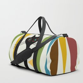 Mid-Century Modern Art Cat 2 Duffle Bag