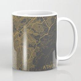 Athens map Coffee Mug
