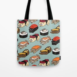 Sushi Otter Tote Bag