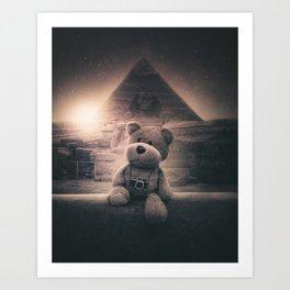 TEDDY 4 Art Print