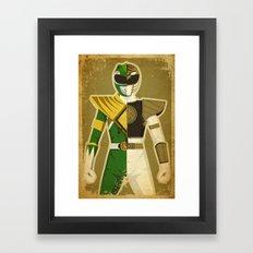 Green With Envy Framed Art Print