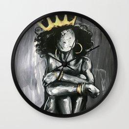 Naturally Queen IX Wall Clock