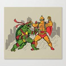 Teenage Mutant Gamera Ninja Canvas Print