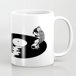 Don't Just Listen, Feel It Coffee Mug