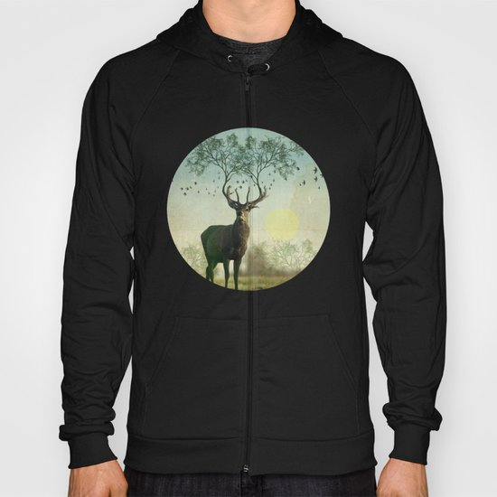 Evergreen Stage Horn Hoody