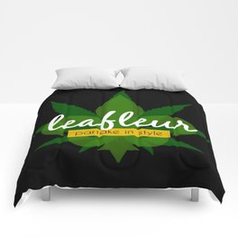 Leafleur Magazine : Partake in Style Comforters