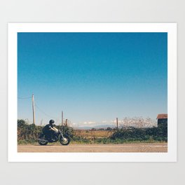 Afternoon Ride Art Print