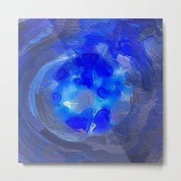 Abstract Mandala 238 Metal Print