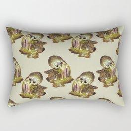 slime skull Rectangular Pillow