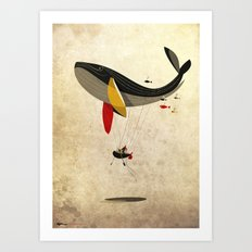 I believe i can fly Art Print