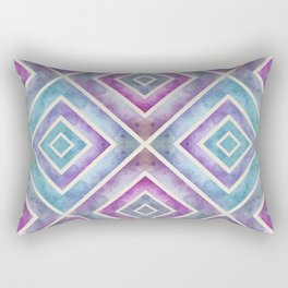 Watercolor Geometrics Rectangular Pillow