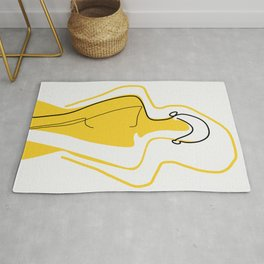 Sun Kissed Shy Girl Rug