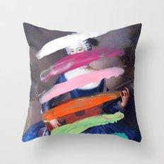 Composition 505 Throw Pillow