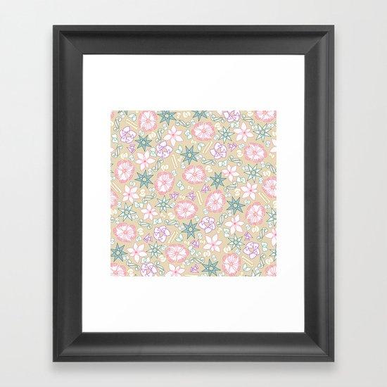 intersection v2 Framed Art Print