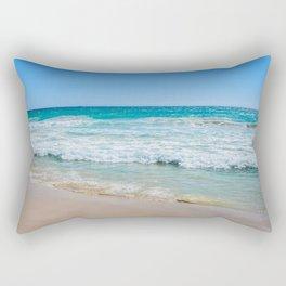 Beach Panorama Rectangular Pillow