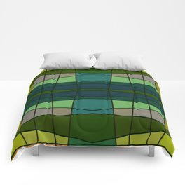 Green Pattern Turtle Comforters