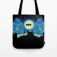 Starry Knight Gotham City Tote Bag