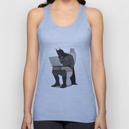 BATROOM Unisex Tank Top
