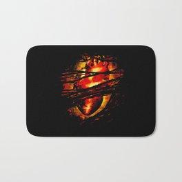 Heart of Fire Bath Mat