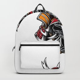 Samurai Helmet With Hannya Mask Backpack