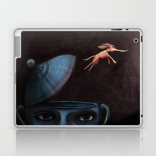 Unlikely Escape. Laptop & iPad Skin
