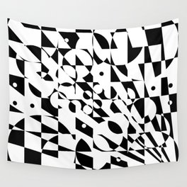 Fractured Structure Wall Tapestry