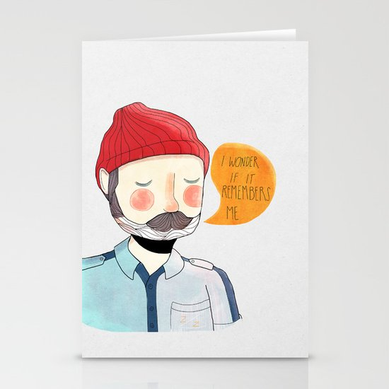 I Wonder If It Remembers Me Stationery Cards